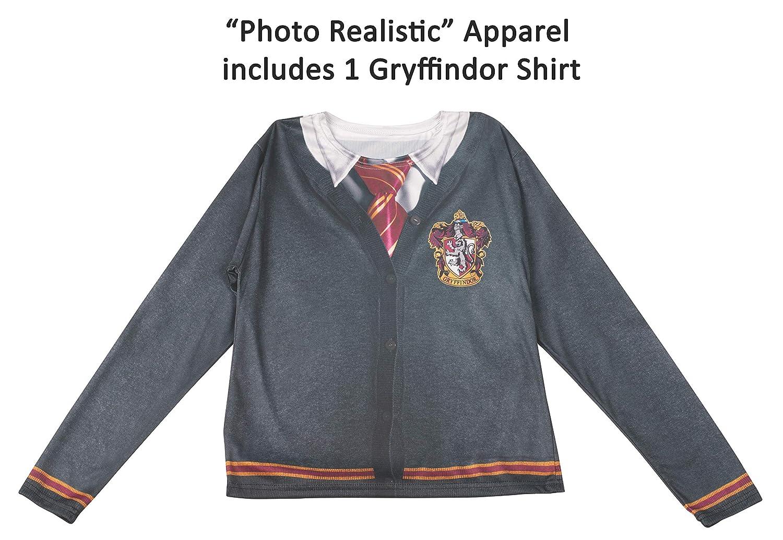 Rubies Adult Harry Potter Costume Top, Gryffindor, Medium