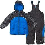 Arctic Quest Infant & Toddler Boys Ski Jacket and Snowbib Snowsuit Set