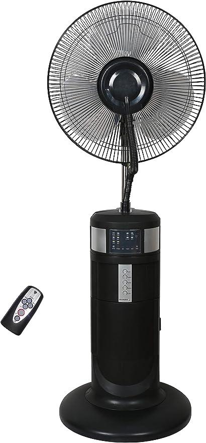 Fresh - Ventilador pulverizador para exterior, 40 cm: Amazon.es: Hogar