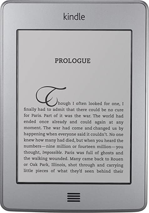 Amazon Kindle Touch Pantalla táctil 4GB WiFi Gris lectore de e ...