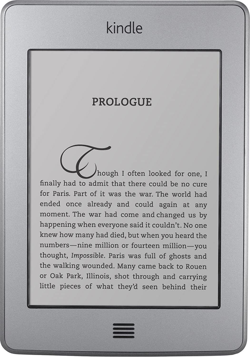 kindle touch wifi manual