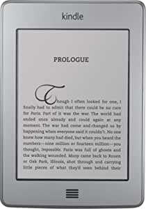 """Kindle Touch, Wi-Fi, 6"""" E Ink Display - includes Special Offers & Sponsored Screensavers"""