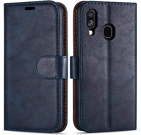 Case Collection Hochwertige Leder Hülle Für Samsung Elektronik