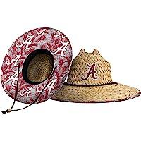 $34 » FOCO Men's Team Logo Floral Straw Sun Hat