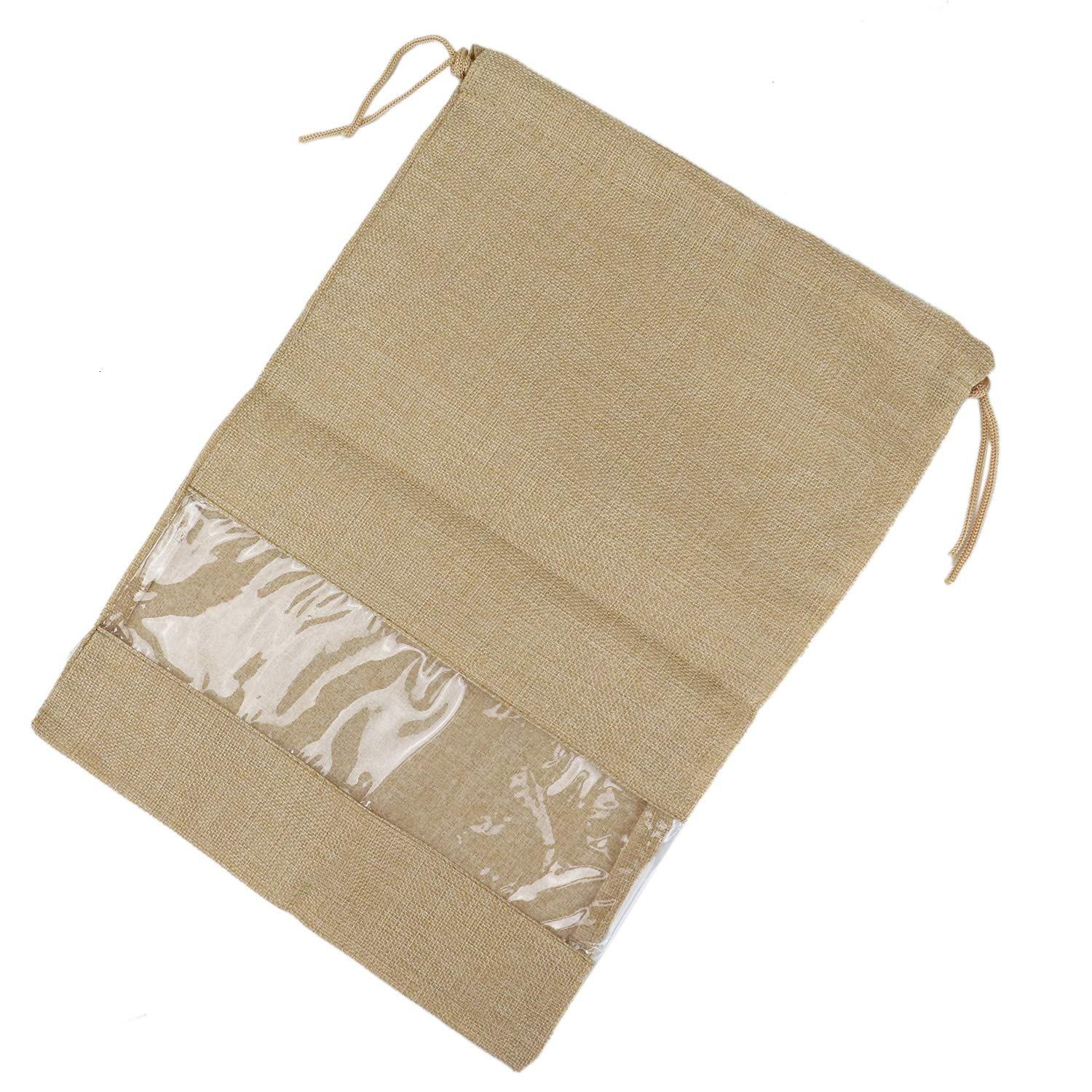HUELE 4Pcs Shoe Storage Bags with Drawstring For Travel
