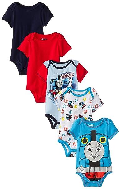 Amazon.com: Thomas el Tren Bebé Boys Thomas 5 Pack Body ...
