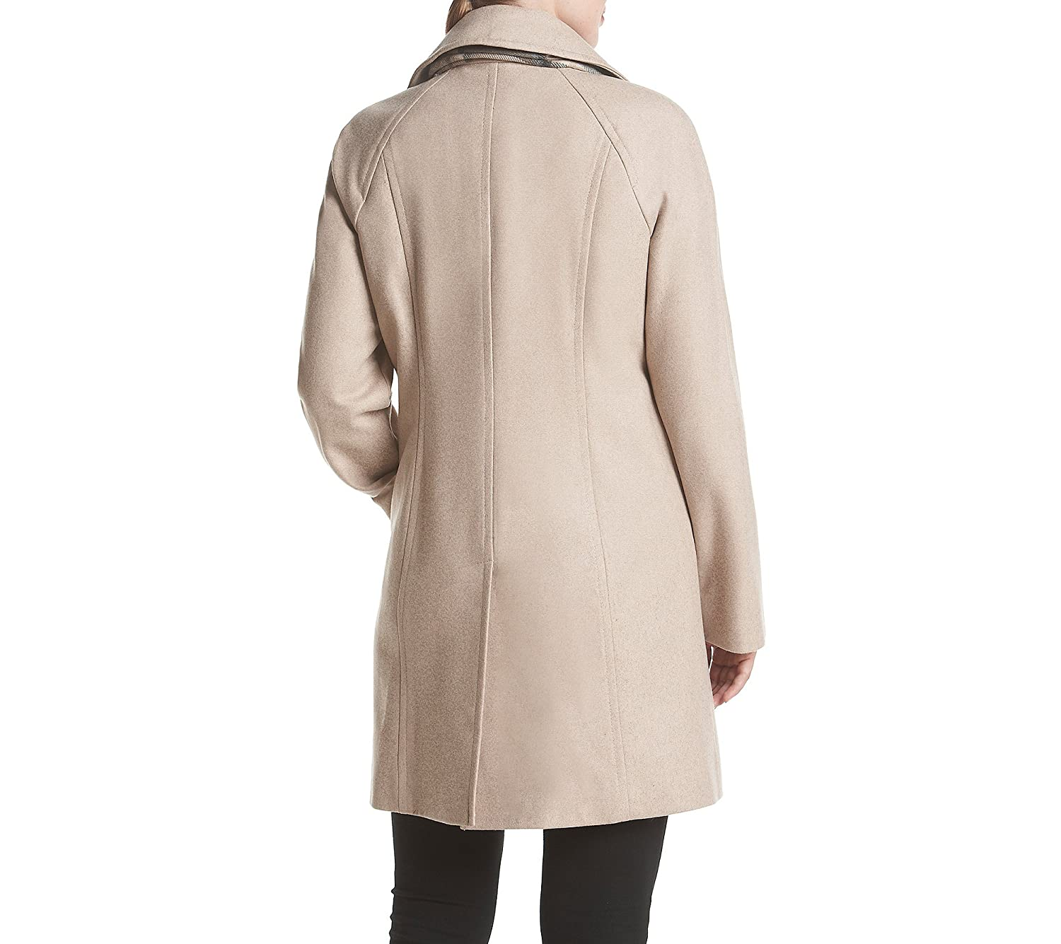 London Fog Petites' Raglan Peacoat