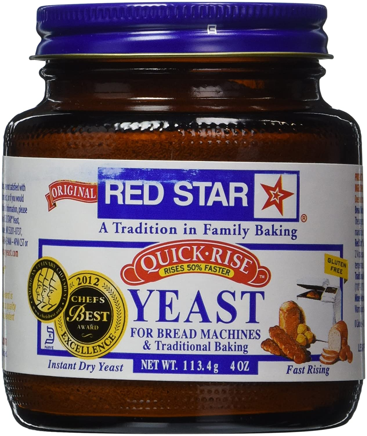 Red Star Yeast Jar Quick Rise
