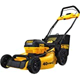 DEWALT DCMW290H1 40V Max Brushless Mower-1x6AH 3-in-1 Cordless Lawn Kit