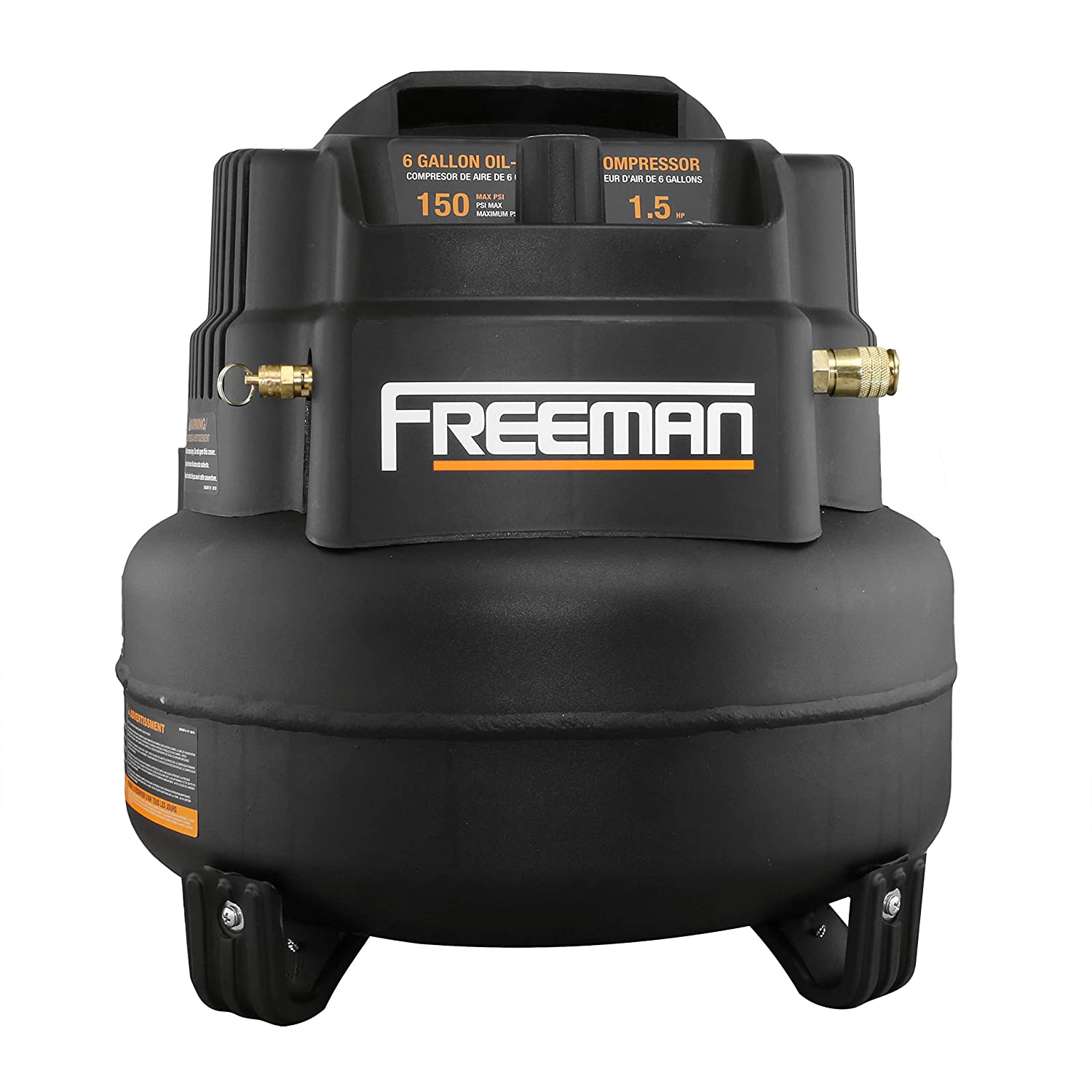 Amazon.com: Freeman 5-Piece Nailer Kit with 6 Gallon Air Compressor and Accessories: Home Improvement