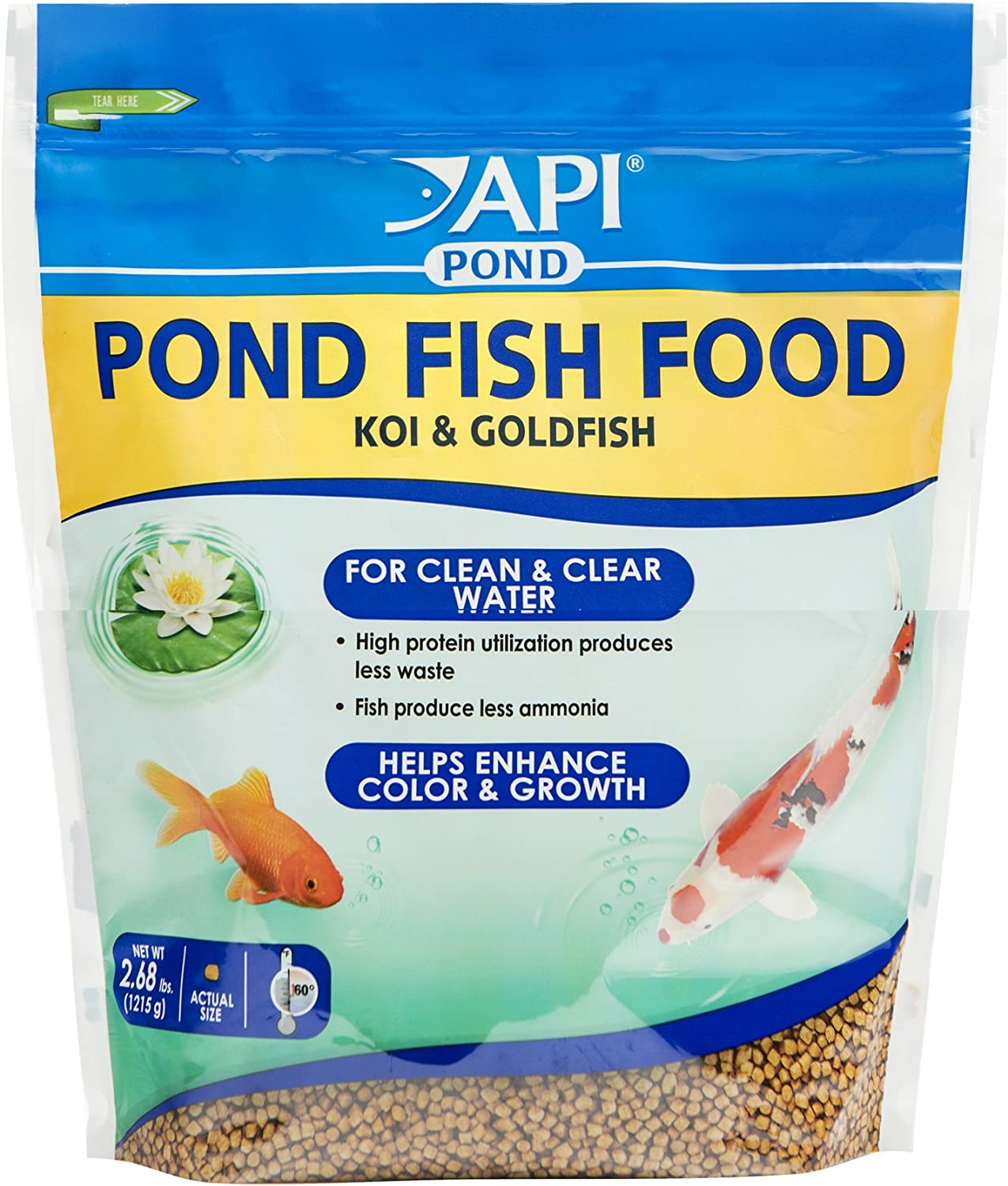 API POND FISH FOOD Pond Fish Food 2.68-Pound Bag