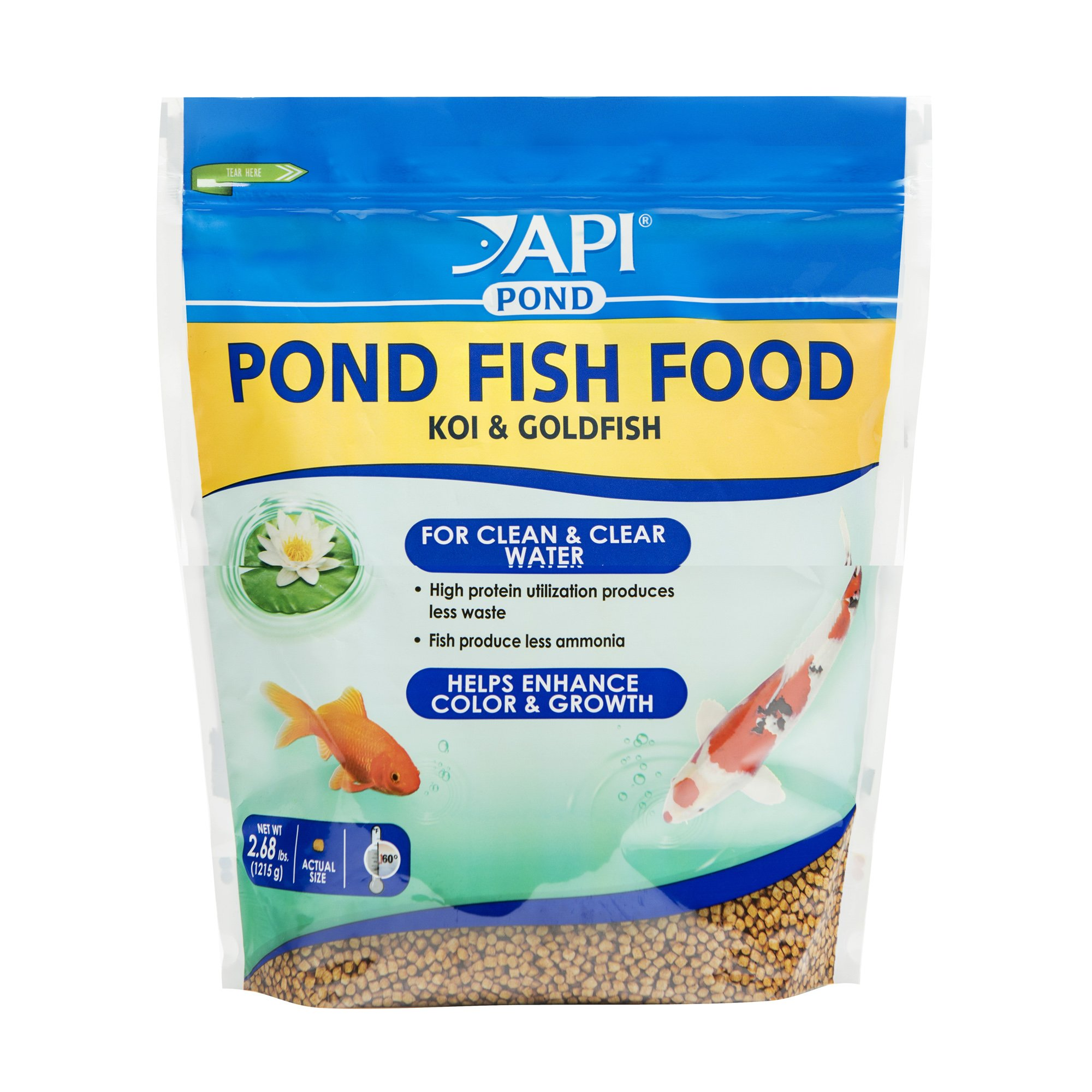 API Pond Fish Food 2.68 lb Bag
