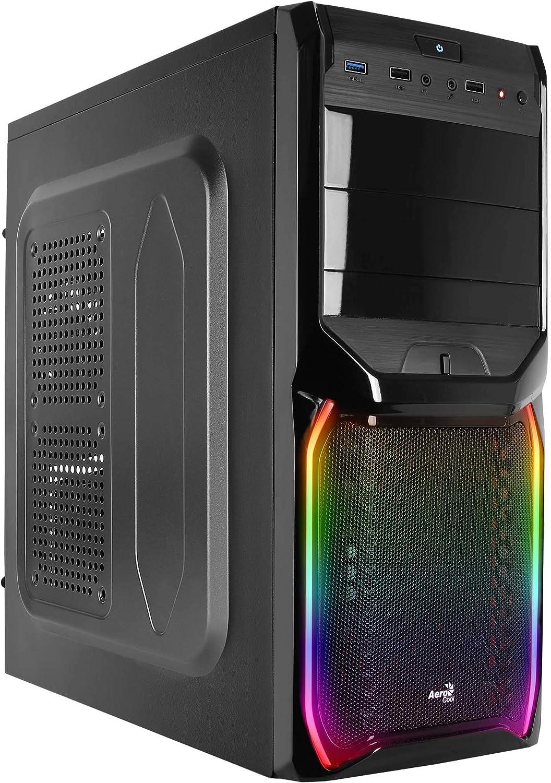 Aerocool V3X RGB - Caja Gaming para PC (semitorre, ATX, Ventilador ...