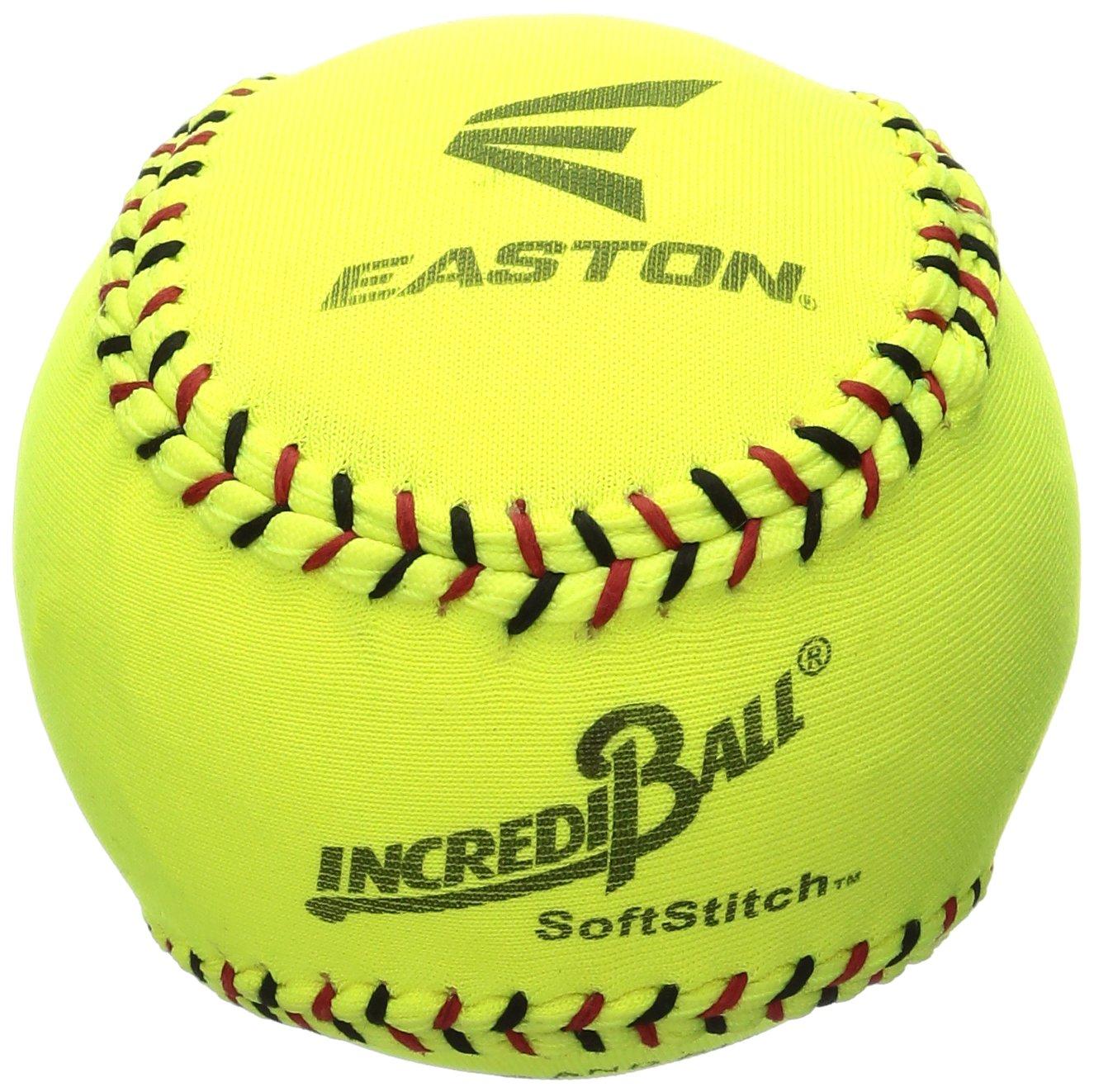 Easton SoftStitch IncrediBall, Yellow, 11-inch 1058291