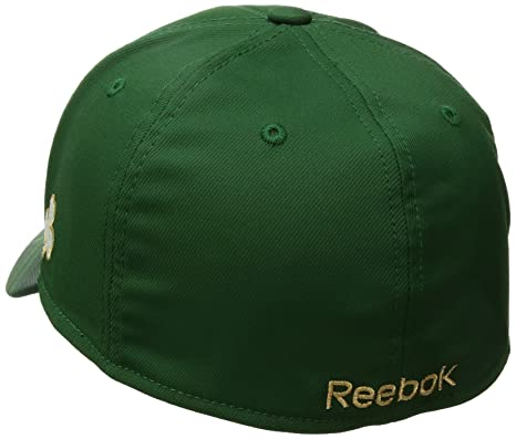46a3e9f911b Amazon.com   Reebok NHL SP17 St. Patrick s Day Structured Flex Hat   Sports    Outdoors