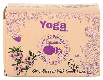 Amazon.com : Yoga India Orchid and Almond Body Soap, 125 ...