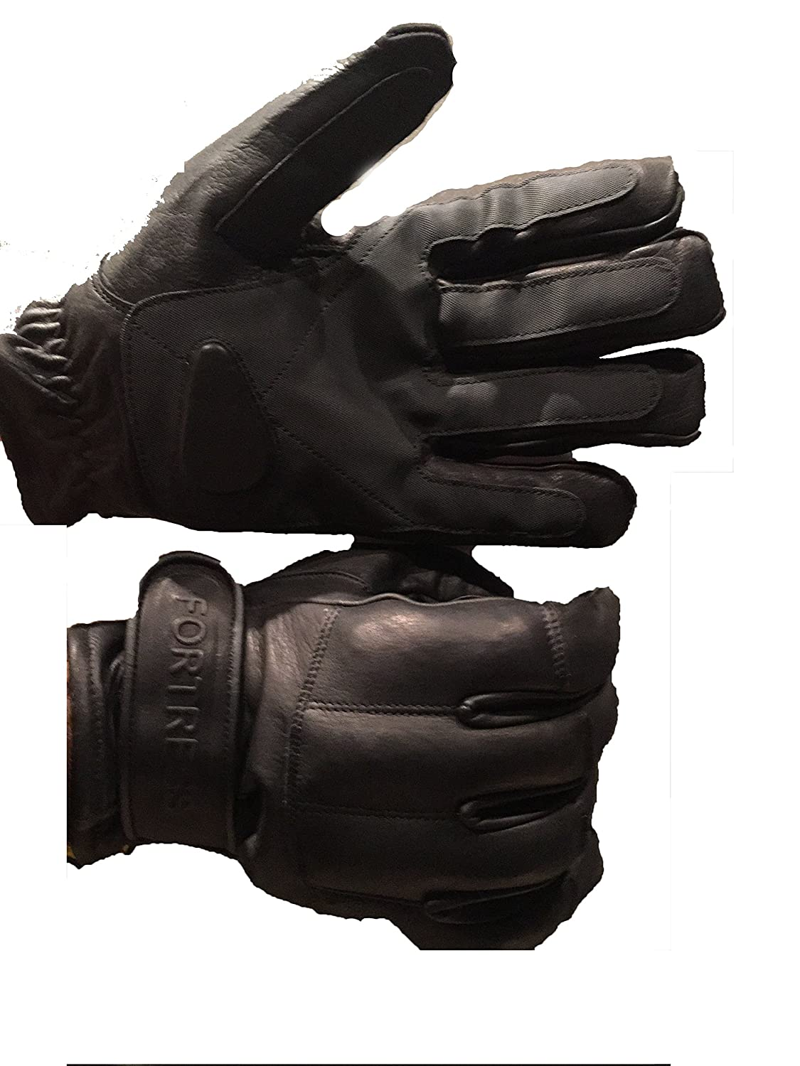 FORTRESS Pure Leather Lead /& Kevlar Flexible Gloves Doorman Professional Defend