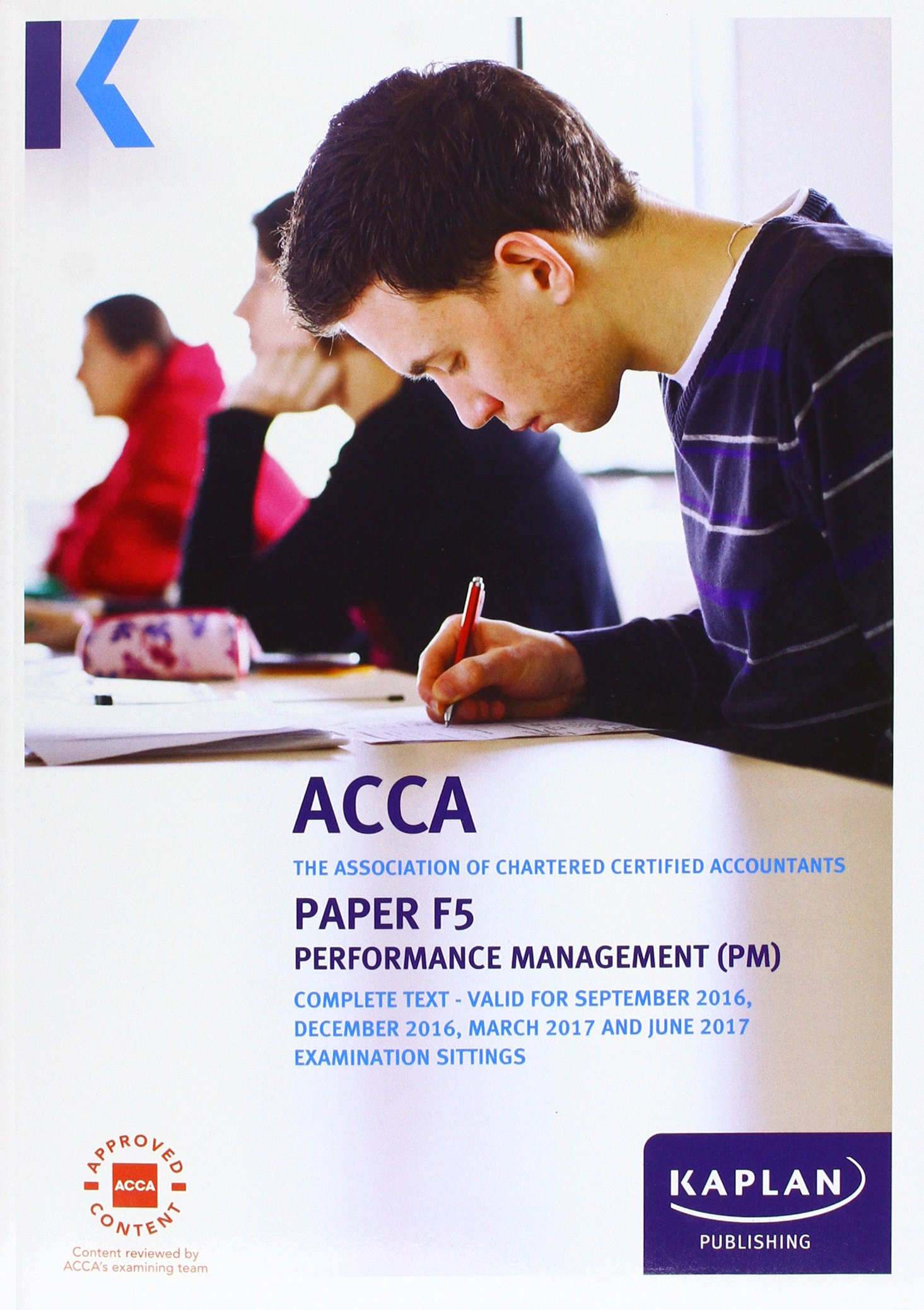 Acca f5 performance management complete text kaplan publishing acca f5 performance management complete text kaplan publishing 9781784156770 amazon books fandeluxe Images