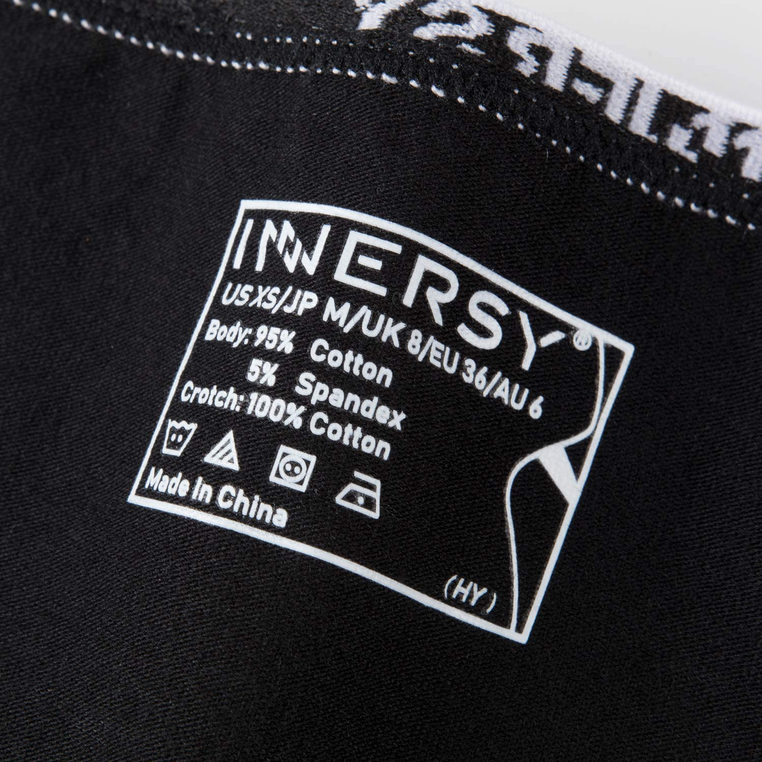 INNERSY Ladies Cotton Underwear Low Rise Full Briefs Comfy Sports Knickers Pack of 6