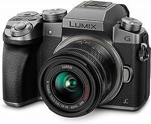 Panasonic Lumix G7KS 4K Mirrorless Camera, 16 Megapixel Digital Camera, 14-42 mm Lens Kit, DMC-G7KS