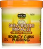 African Pride Shea Butter Miracle Bouncy Curls Pudding, 15 Ounce