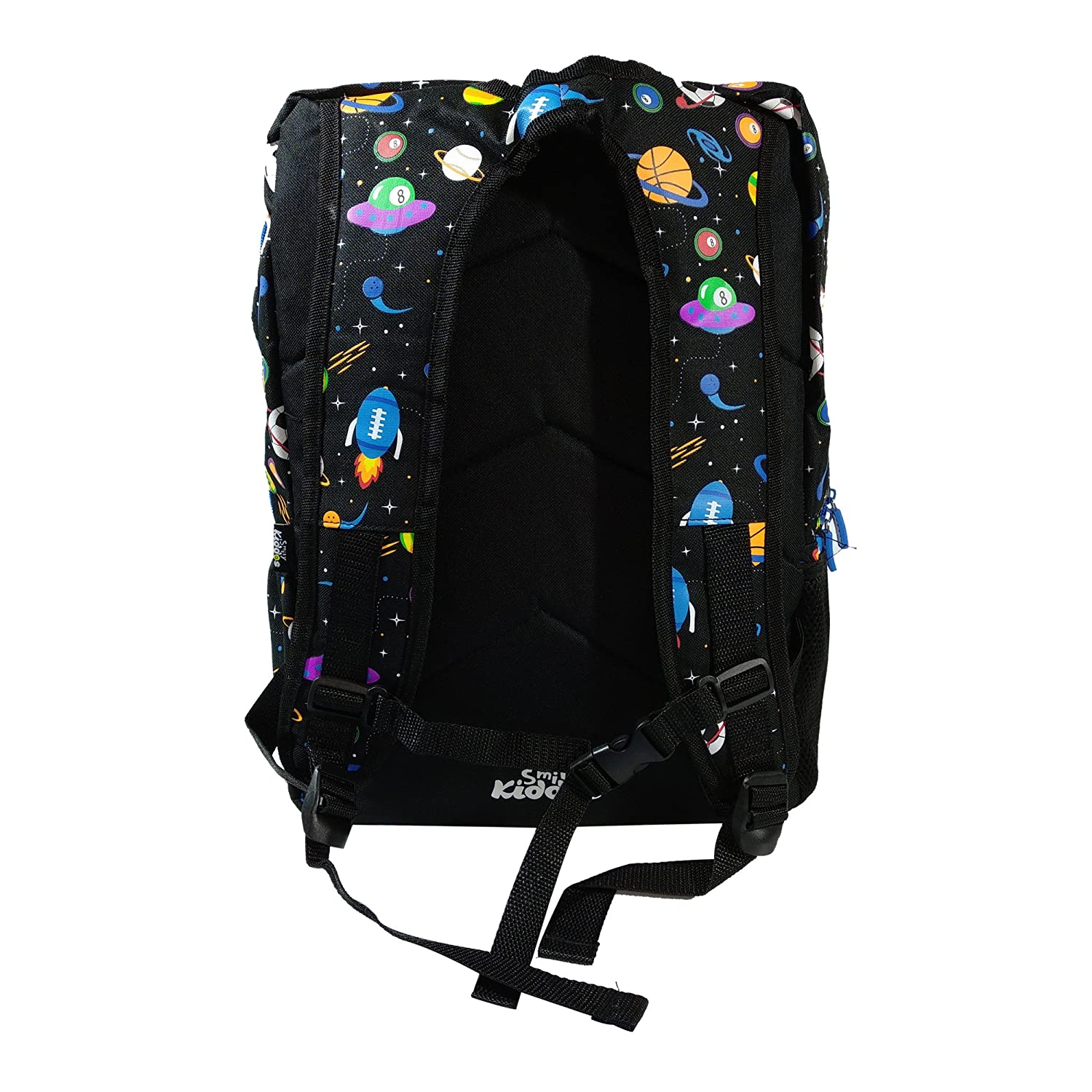7ffc9ab05ee Smily Kiddos Fantasy Foldover Polyester Backpack (Black)   Kids School  Backpacks   School Bags Online  Amazon.in  Bags, Wallets   Luggage
