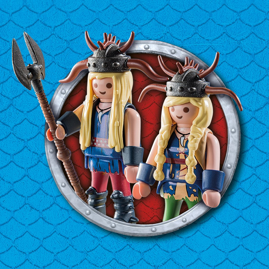 How to Train Your Dragon Twins with Barf and Belch by Playmobil (Image #5)