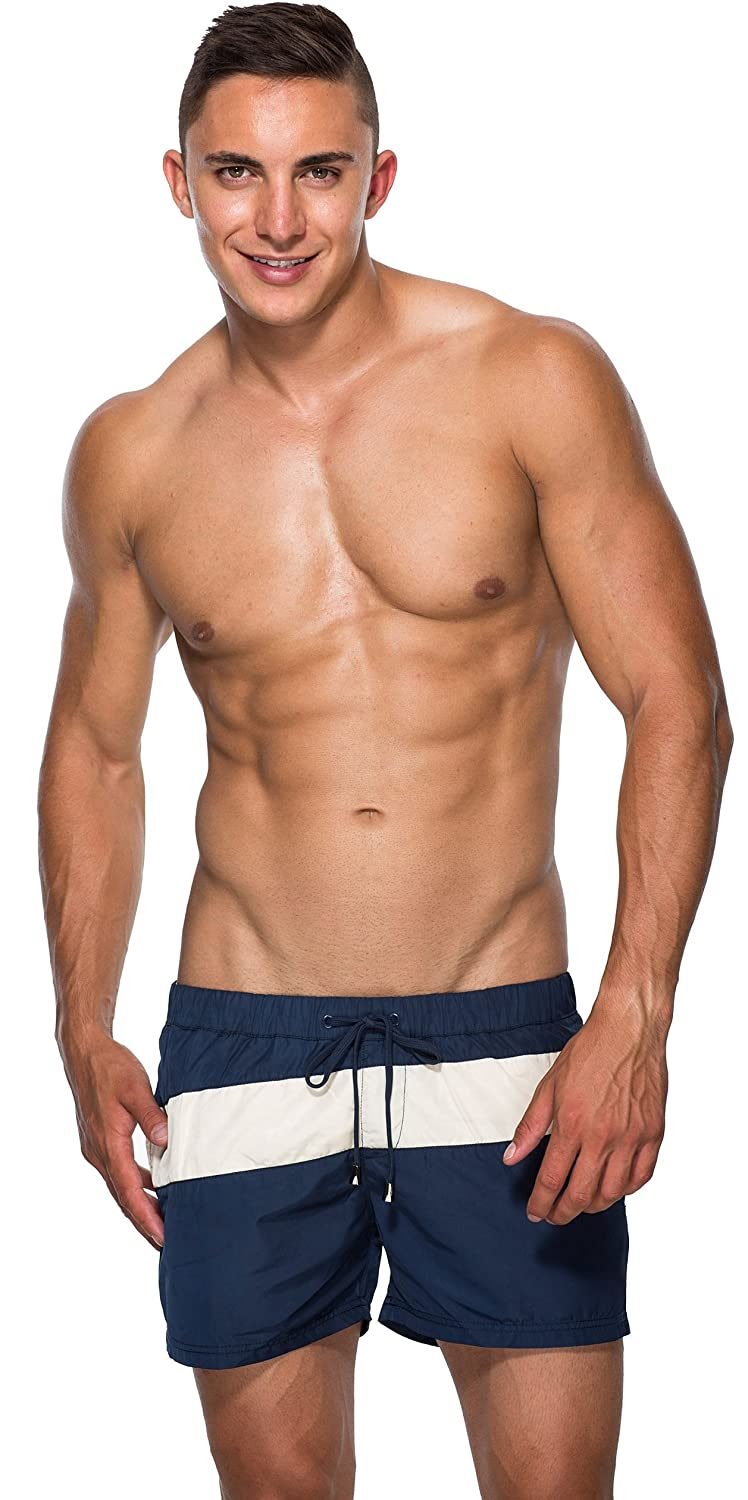 Marcuse League Men's Bathing Shorts Blue (item does come up small)
