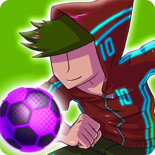 Neon Soccer: Anime soccer game with soccer heroes