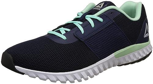 01668375cf13 Reebok Women s City Runner Lp Coll Navy Digital Green Running Shoes-4 UK