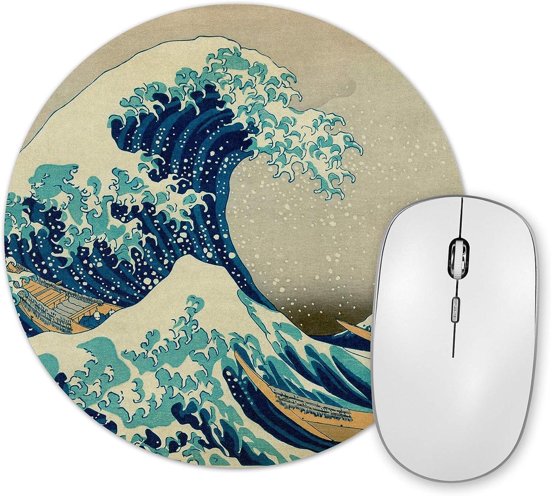 Alfombrilla De Raton Hokusai La Gran Ola De Kanagawa