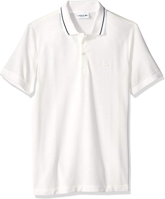 Lacoste Hombre PH9445-51 Manga Corta Camisa Polo - Blanco - Medium: Amazon.es: Ropa y accesorios