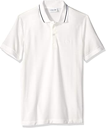 Lacoste Hombre PH9445-51 Manga Corta Camisa Polo - Blanco - Medium ...