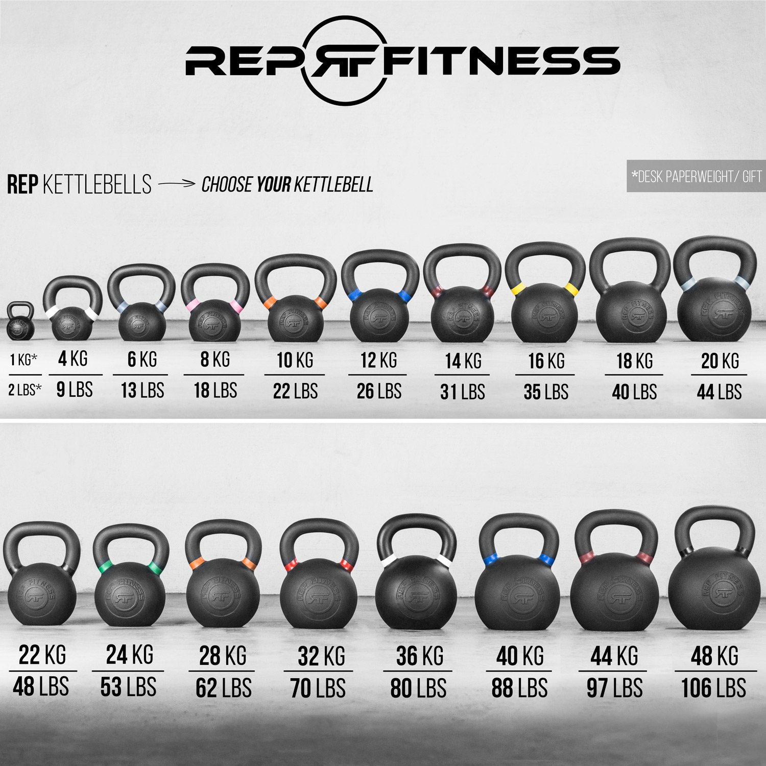 Rep 12 kg Kettlebell for Strength and Conditioning by Rep Fitness (Image #5)