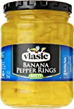 Vlasic Banana Pepper Rings, Mild, 12 oz