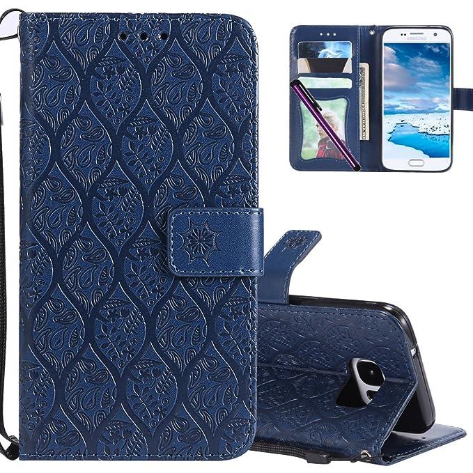Funda de Piel para Samsung S7 COTDOCO, con Tapa de ...