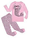 Mermaid Baby Girls Long Sleeve Pajama Sets