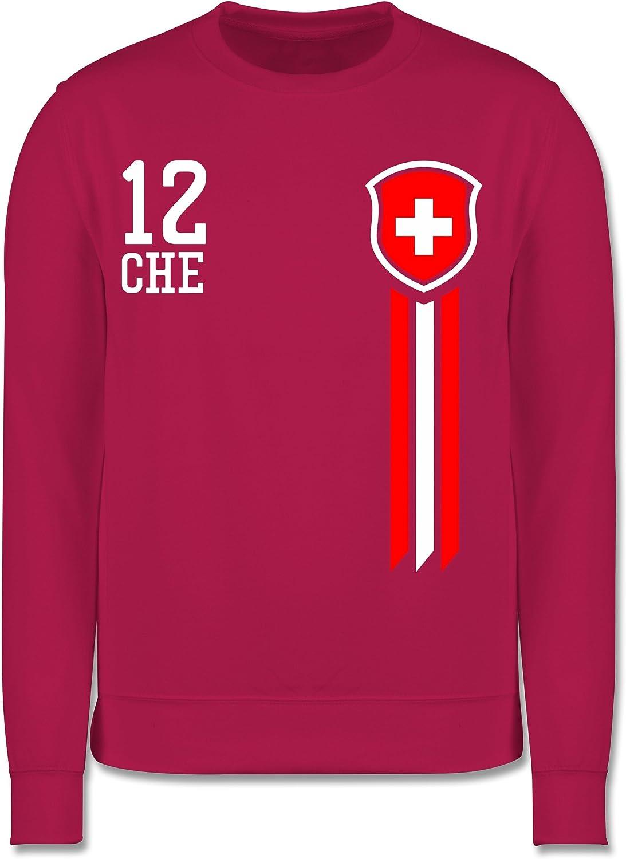 Kinder Pullover Fu/ßball-Europameisterschaft 2020 Kinder Mann Schweiz Fanshirt 12
