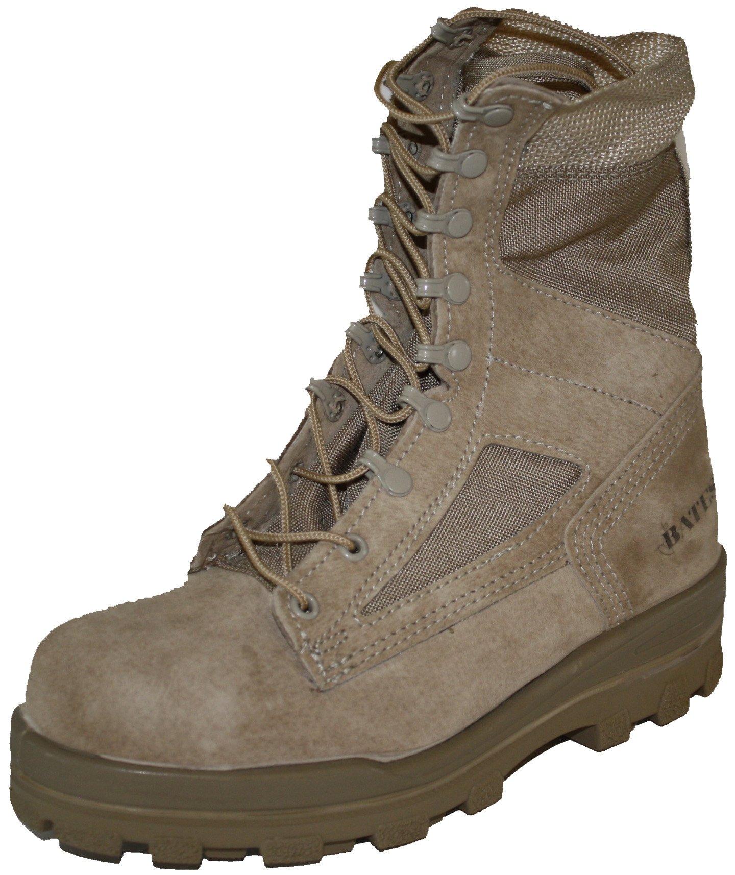 Bates Women's 8 Inches Durashocks Steel Toe Boot,Desert Sand,9.5 W US by Bates