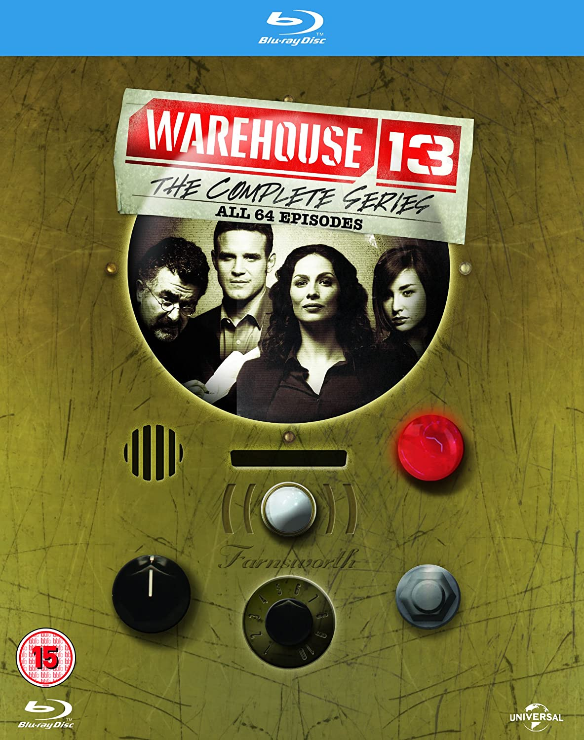 Warehouse 13: The Complete Series UK Region Free