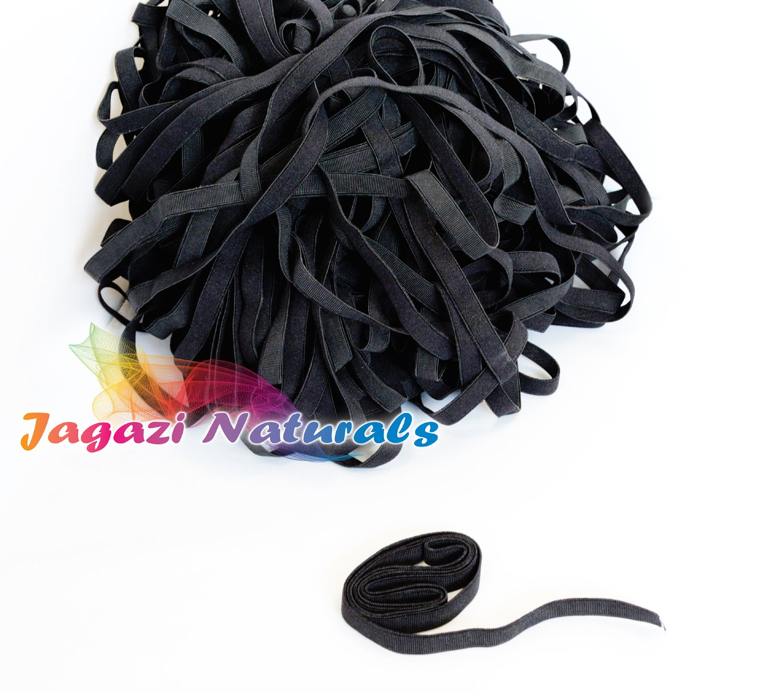 Bra straps Beige hooks 6 pieces Adjustable Straps Elastic Stretchy Band Wig making Lace Wig Cap Hooks Elastic tape