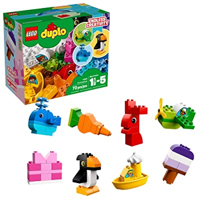 LEGO DUPLO Fun Creations 10865 Building Blocks (70 Pieces): Toys & Games