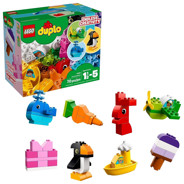 LEGO DUPLO Fun Creations 10865 Building Blocks (70 Pieces)