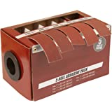 Boxed Multi-Roll Assorted Abrasive Rolls For Wood Turners, Furniture Repair, Woodworkers, Metal Workers and Automotive…