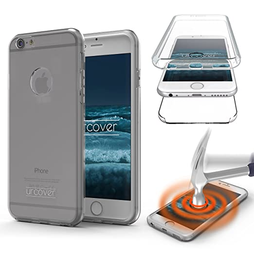 8 opinioni per Custodia iPhone 6/6s, Urcover nuova Touch Case 2017 Protezione 360 fronte retro