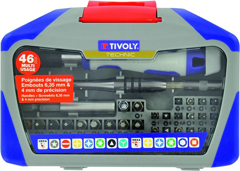 Non Concern/é TIVOLY 11501920001 Embouts noix de serrage 6 pans magn/étiques x6