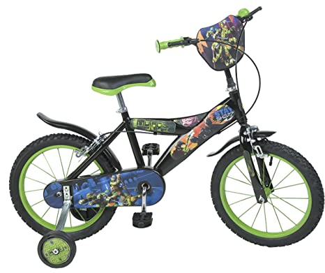 Tortugas Ninja - Bicicleta de 16