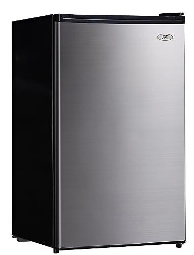 Amazon.com: SPT rf-444ss Compact nevera, 4,4 pies cúbicos ...