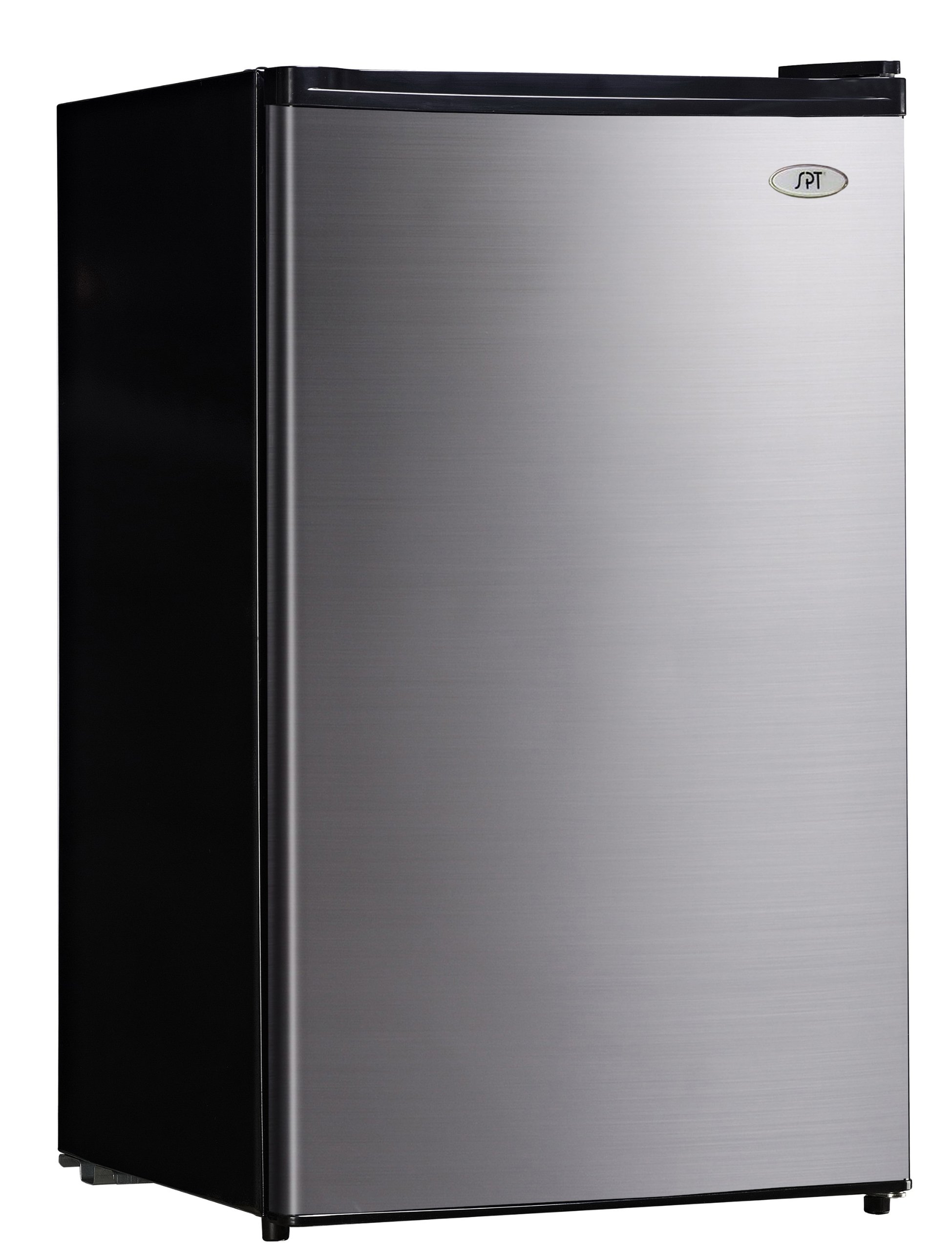 SPT RF-444SS Compact Refrigerator, 4.4 Cubic Feet, Stainless Steel, Energy Star
