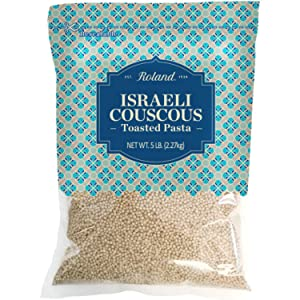 Roland Foods Toasted Israeli Couscous Pasta, Specialty Imported Food, 5-Pound Bag
